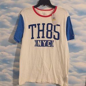 NWT Tommy Hilfiger Men's Medium baseball tee shirt